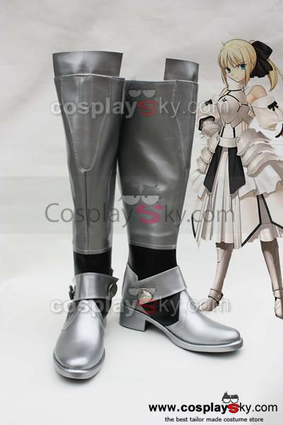 Fate/Unlimited Codes Saber Cosplay Chaussures