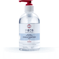 INEOS 12 x 250ml Pump Top STERILE HAND SANITISING GEL 250ML HOSPITAL GRADE- Carton 1 x 12 UNITS OF 250ML (£2.40 each bottle)