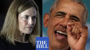 JUST IN: Obama cites Amy Coney Barrett slamming GOP on healthcare