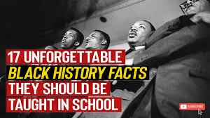 17 Untold Black History Facts Wasn't Taught In School