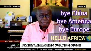 Europe China America in Trouble as African countries begin to officially trade within Africa