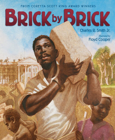 In this book Mr. Cooper illustrated the story of enslaved people who built the White House.