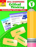 Skill Sharpeners Critical Thinking, Grade 1 Paperback – January 1, 2017