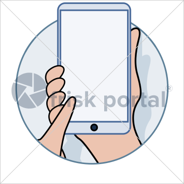 Professional working, illustrated business avatar, stock vector (#CI006)