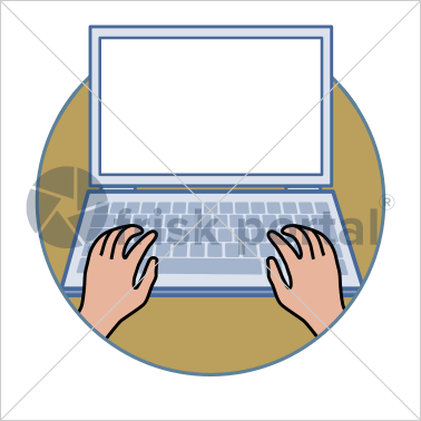 Professional working, illustrated business avatar, stock vector (#CI005)