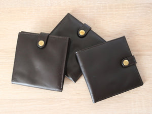 Leather gun licence wallets