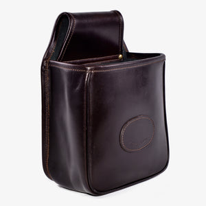 Audley Leather Open Top Cartridge Pouch for game or clay pigeon shooting