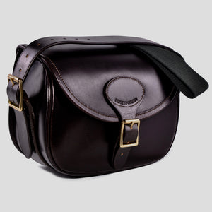 Ebury brown leather cartridge bag
