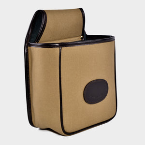 Glebe canvas and leather cartridge pouch