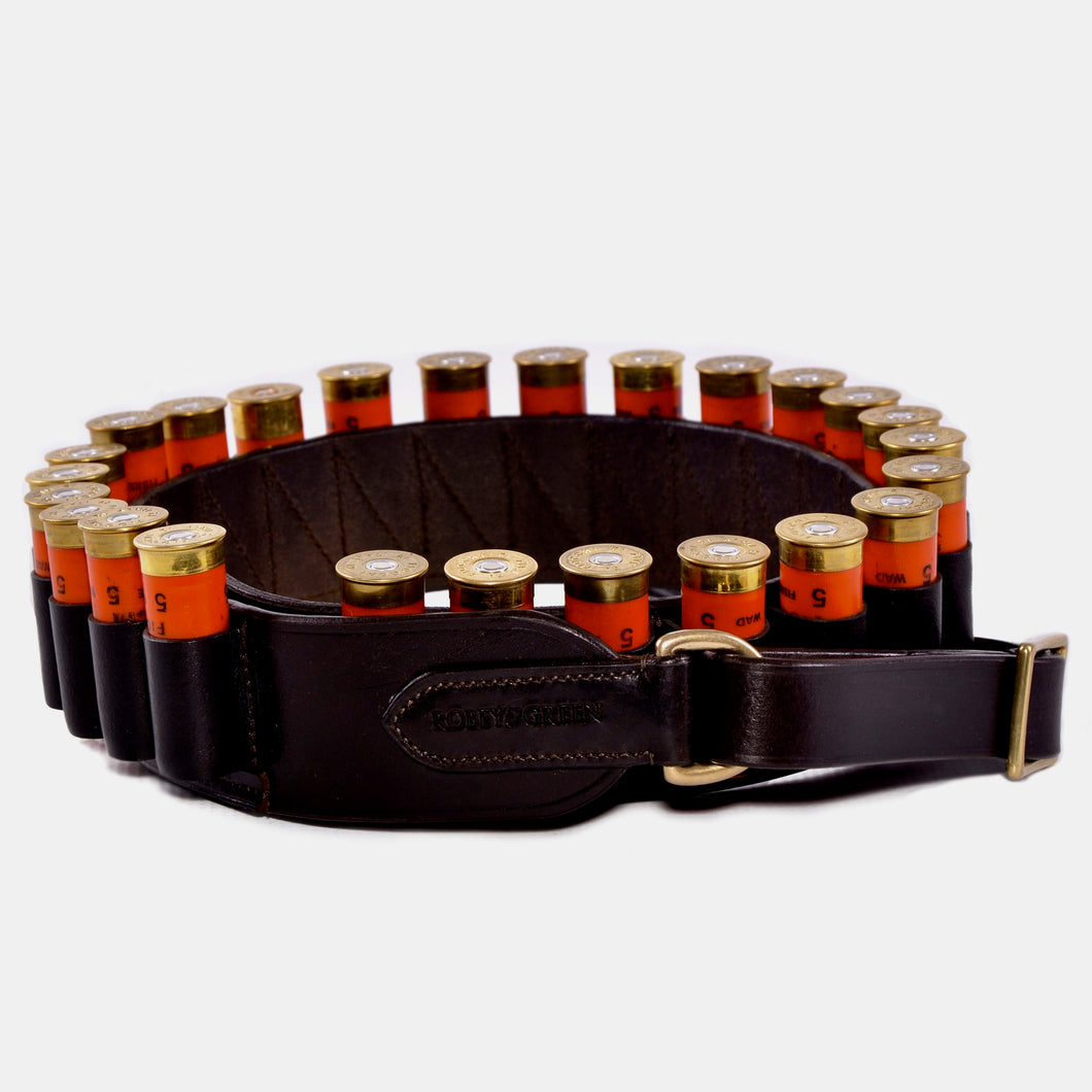 20 bore open loop leather cartridge belt