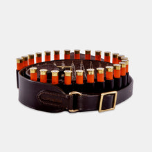 Load image into Gallery viewer, Leather Open Loop Cartridge Belt- .410 Bore