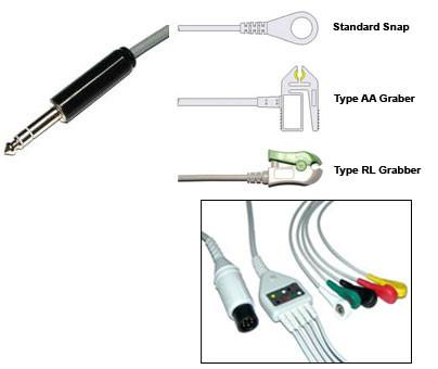 Medtrinic Physio Control Si Ecg Cable With Leads