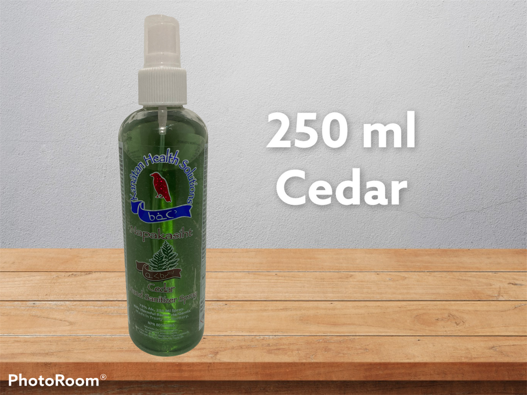 250 Ml Cedar Hand Sanitizer Sprays