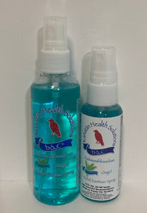 Sage Hand Sanitizers Duo (100 ml + 60ml) Sprays