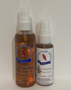Sweet Tobacco Hand Sanitizers Duo (100 ml + 60ml) Sprays