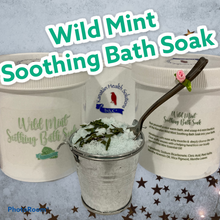 Load image into Gallery viewer, Wild Mint Soothing Bath Soak