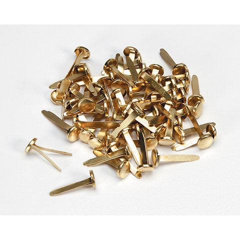 Paper Fasteners - Gold - 3/4 inch - 60 pieces