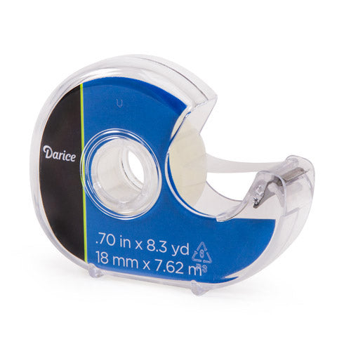 Permanent Double Sided Tape - .70 inches x 8.3 yards