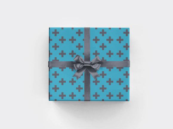Plus Oceanic Wrapping Paper Sheet