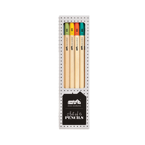 Portico Designs US Inc - Mini Moderns - Set Of 6 Pencils