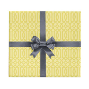 Starfruit Lattice Wrapping Paper Sheet