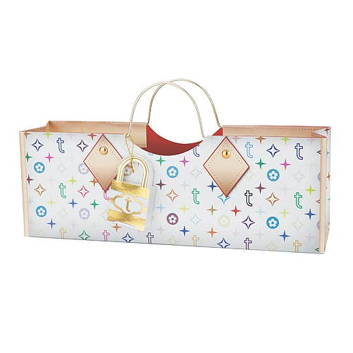 Colorful Truey Purse Wine Bag