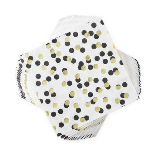 Polka Dot Dinner Napkin