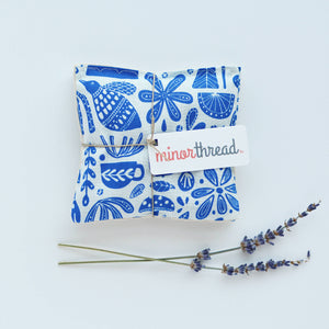 Minor Thread - Organic Lavender Sachets in Kindred Fable Blue - Set of 2