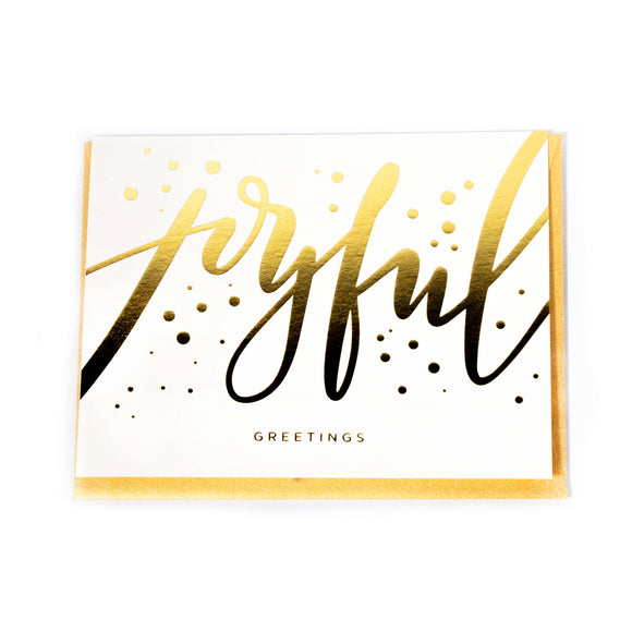 Joyful Greetings Card