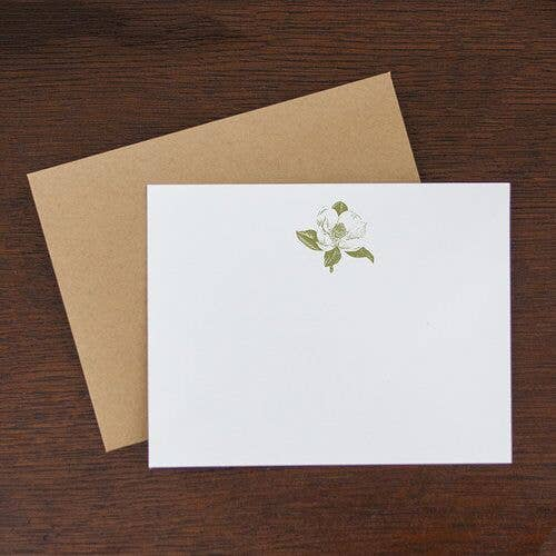 Jerry and Julep, LLC - Magnolia Flat Note Stationery Set