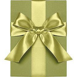 Chartreuse Satin Ribbon