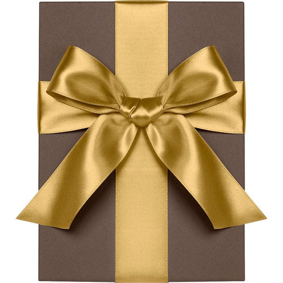 Vintage Gold Satin Ribbon