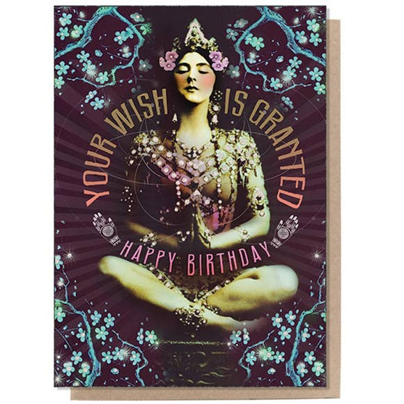 PAPAYA - Greeting Card - Granted Wish Birthday