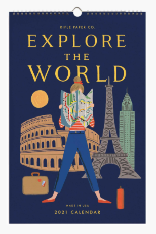 2021 Explore the World Calendar - Rifle Paper Co.