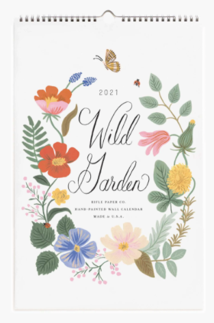2021 Wild Garden Calendar - Rifle Paper Co.