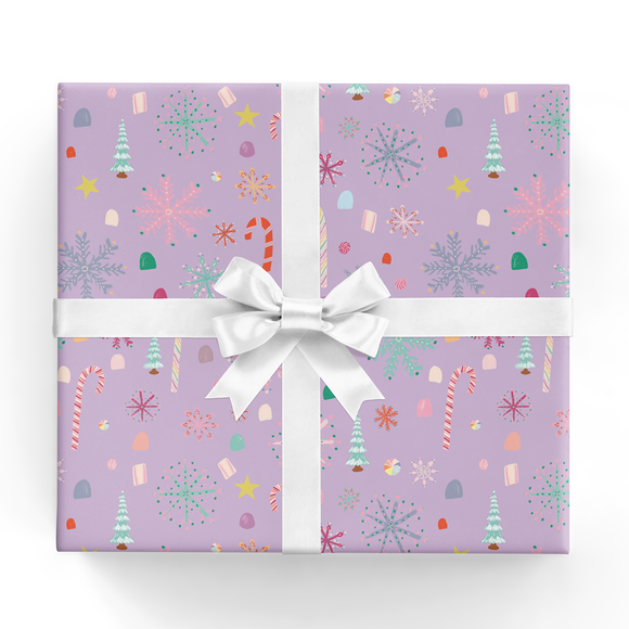 REVEL & Co. - Nutcracker Candy Wrapping Paper Sheet
