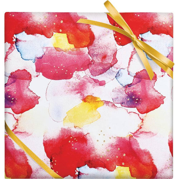 Abstract Watercolor Stone Wrap
