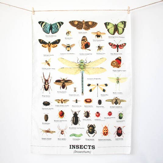 Insects - Tea Towel