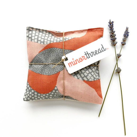 Minor Thread - Organic Lavender Sachets in Land's End Peach - Set of 2