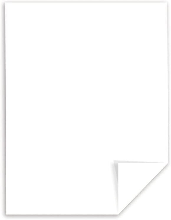 20 pack 94 Brightness White Cardstock, 110 lb, 8.5 x 11 Inches