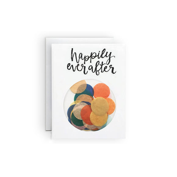 The Paper Curator - Ever After Confetti No. 4 Card
