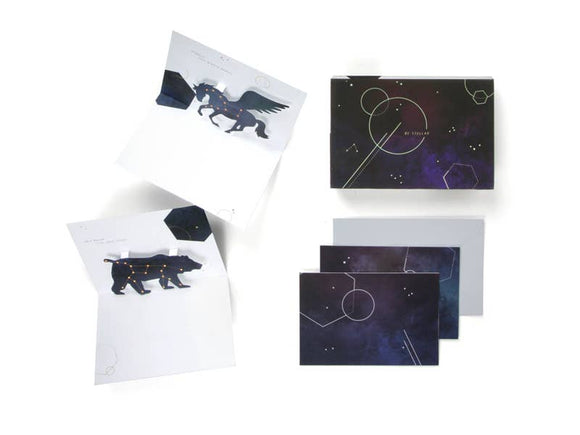 Constellations Pop Up Notecard Set