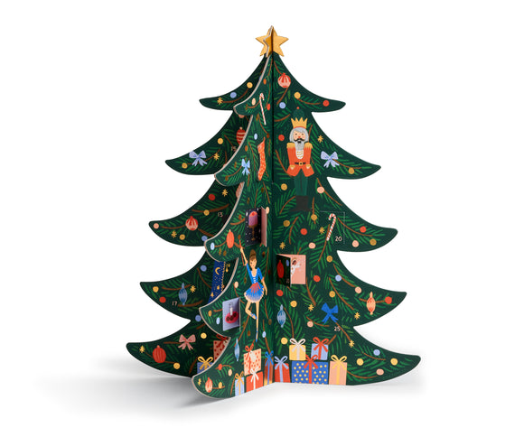 Rifle Paper Co. - Christmas Tree Advent Calendar