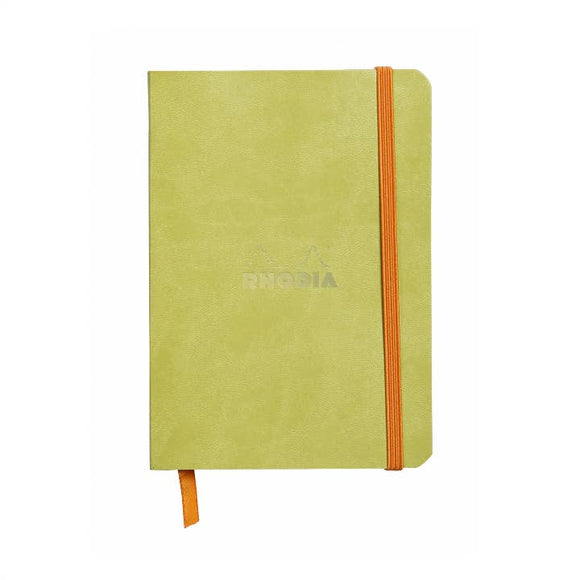 Rhodia Softcover Dot Grid Bullet Journal (Medium) 6 x 8.25 - Anise