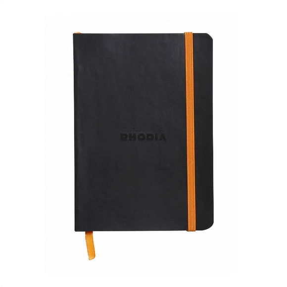 Rhodia Softcover Dot Grid Bullet Journal (Medium) 6 x 8.25 - Black