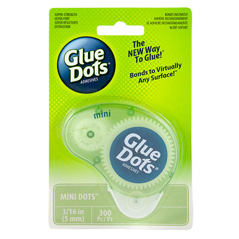 Glue Dots® 3/16 inch Mini Dot n Go™ Adhesive Roller, 300 pieces