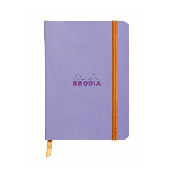 Rhodia Softcover Dot Grid Bullet Journal (Medium) 6 x 8.25 - Iris