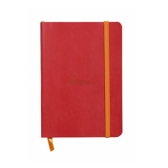 Rhodia Softcover Dot Grid Bullet Journal (Medium) 6 x 8.25 - Poppy