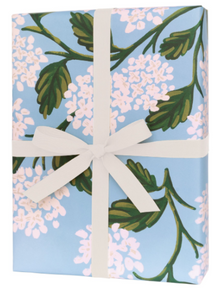 Rifle Paper Co. - Single Hydrangea Wrapping Sheet