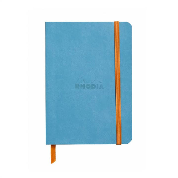 Rhodia Softcover Dot Grid Bullet Journal (Medium) 6 x 8.25 - Turquoise